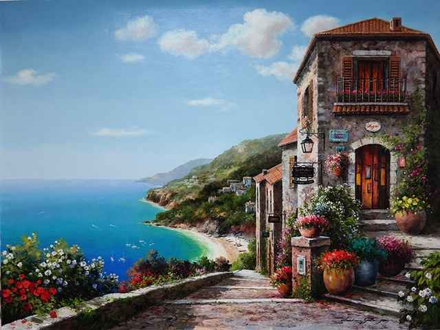 Peacful Cove by  Soon Ju Choi  - Masterpiece Online