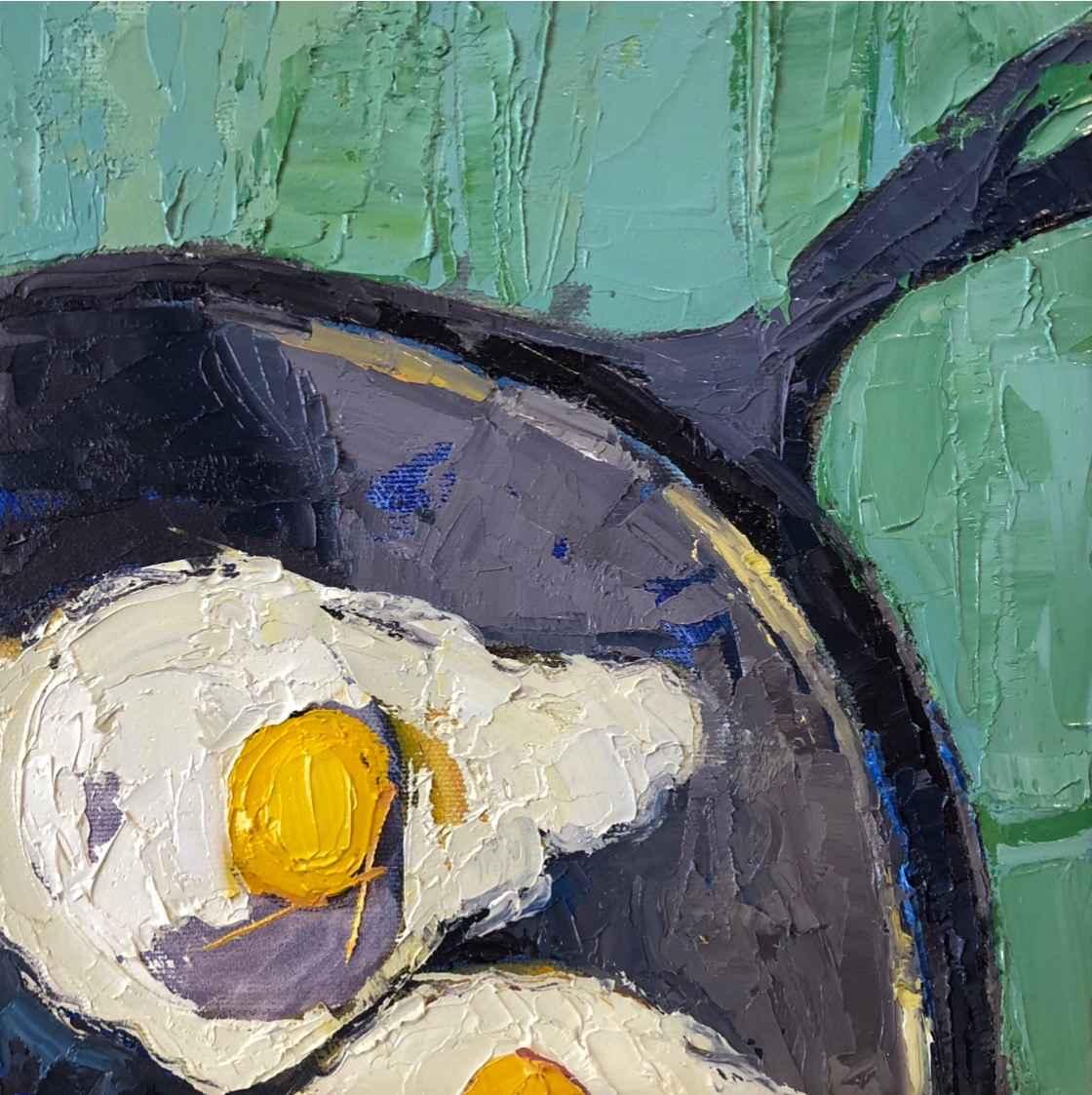 Z Sizzling Eggs by  Grace Afonso - Masterpiece Online