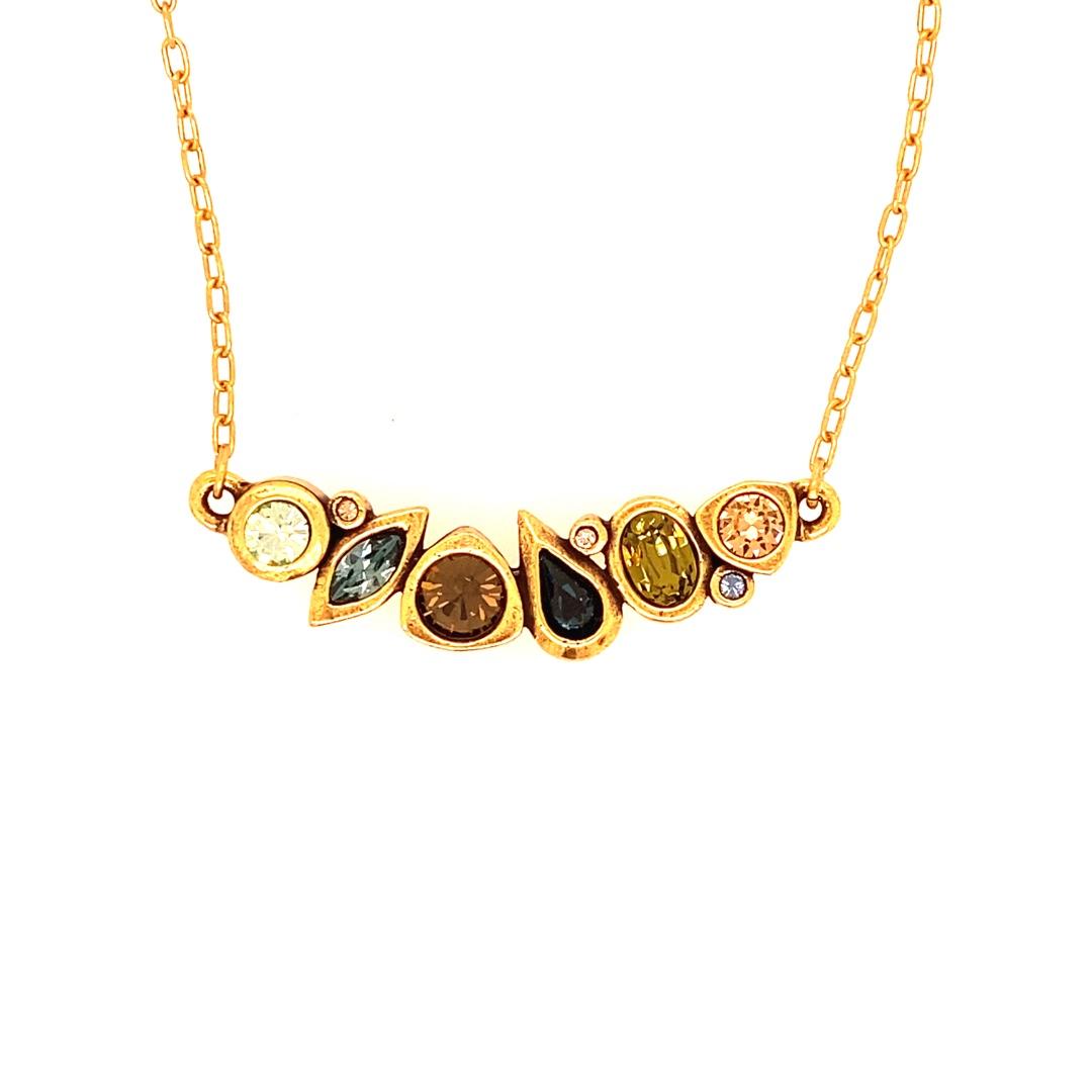 Sabine Necklace in Gold, Cascade