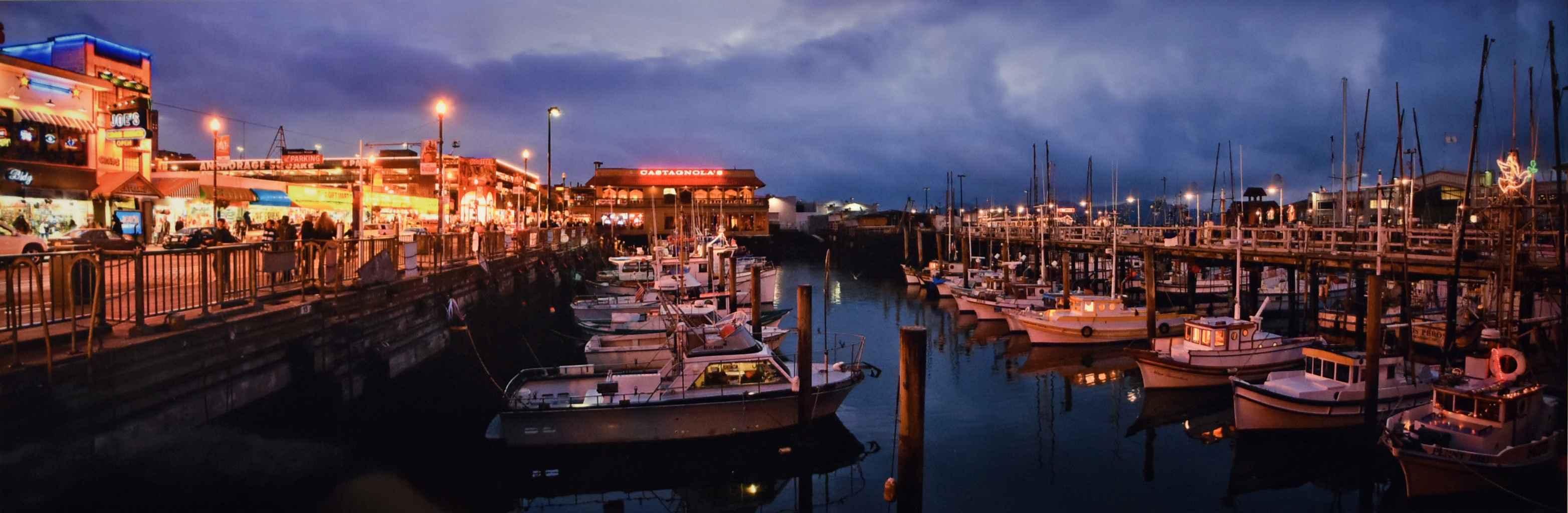 Harbor by  George Jerkovich - Masterpiece Online