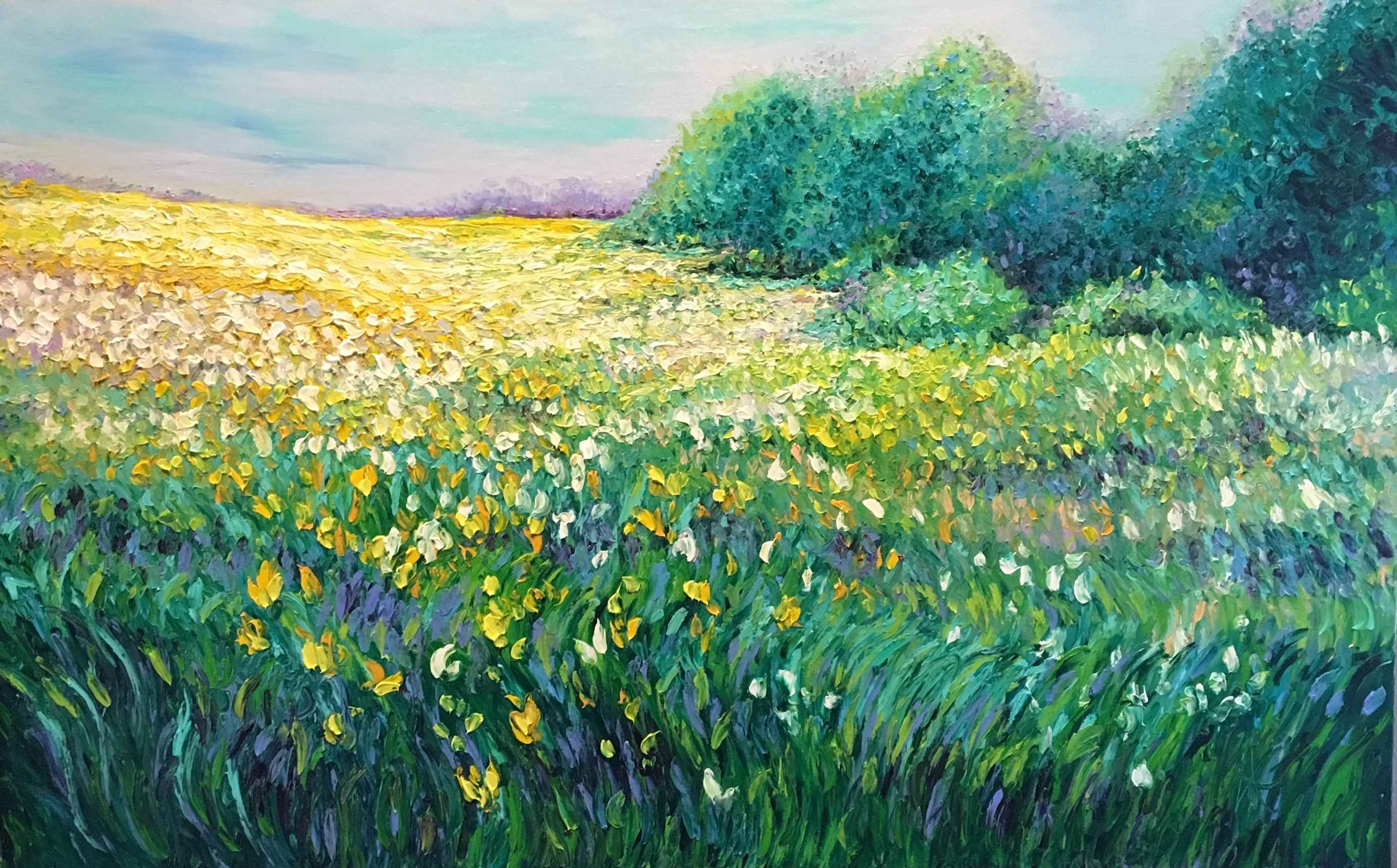 Spring Field  by  Kimberly Adams