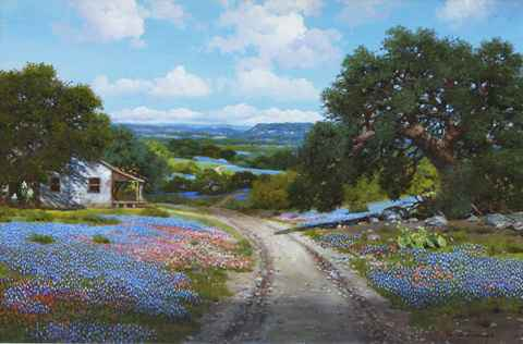 Texas Shadows by  William Slaughter  - Masterpiece Online