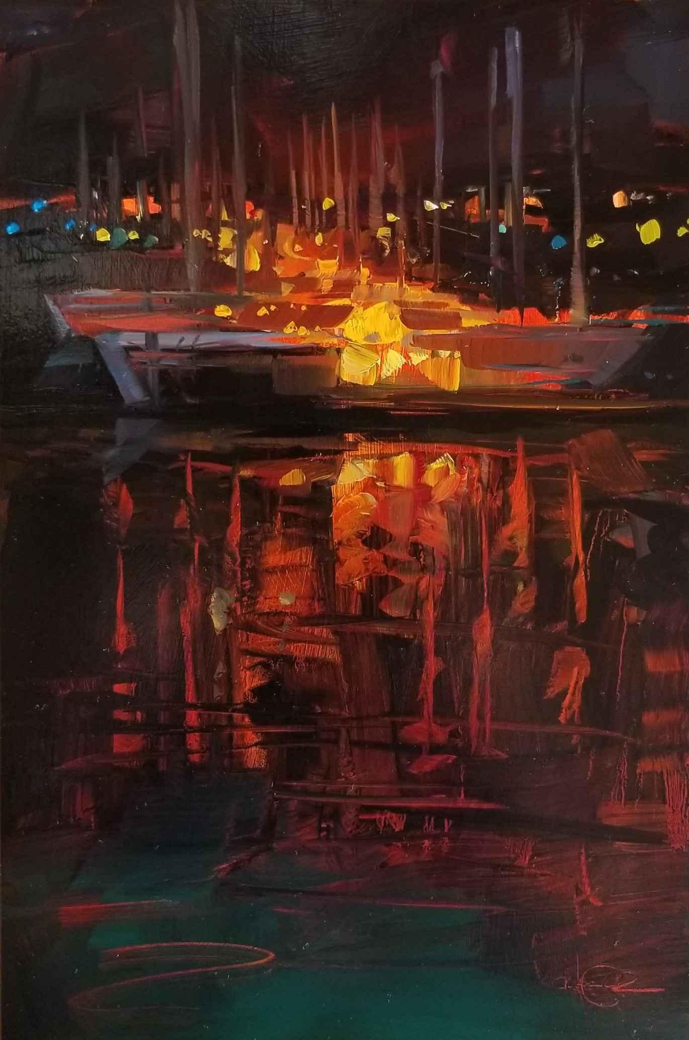 Monterey Wharf by Ms. Cristall Harper - Masterpiece Online