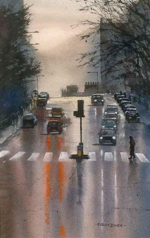 Winter Morning, Morni... by  Colin Joyce - Masterpiece Online