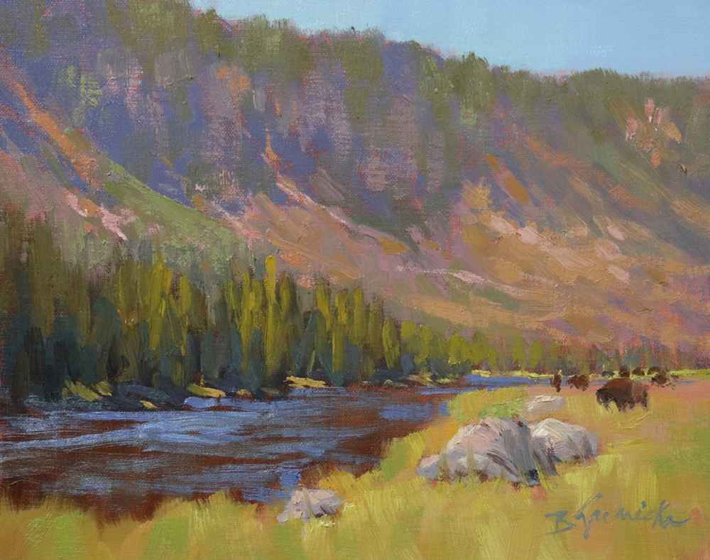 Summer Afternoon on M... represented by  by  Barbara Jaenicke