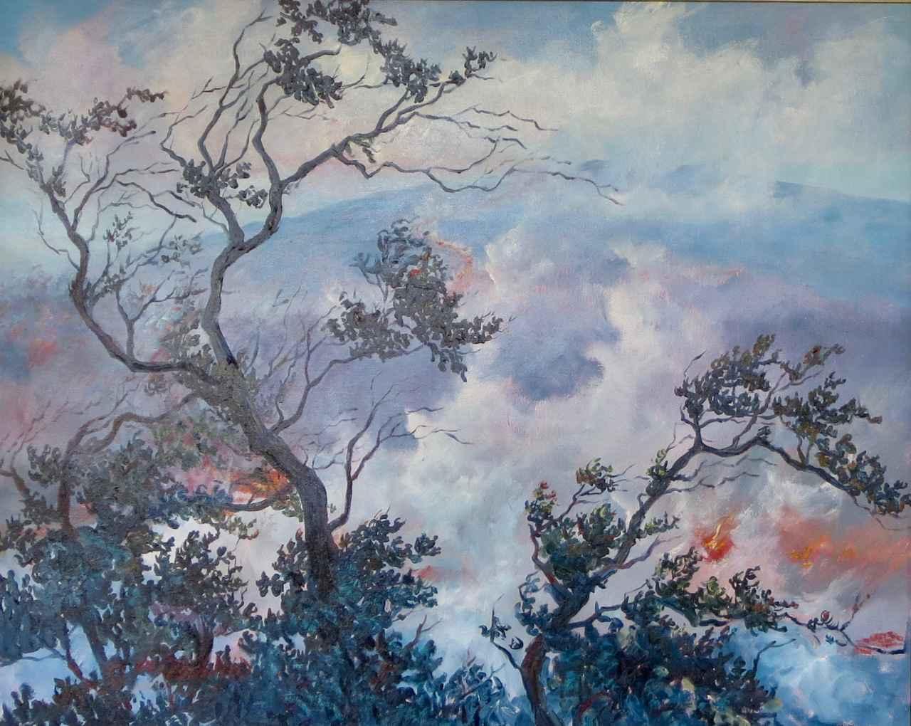 Earth, Wind & Fire by  Betty Hay Freeland - Masterpiece Online