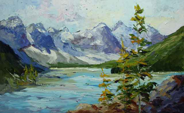 Reflection, Moraine L... by  Rachelle Brady - Masterpiece Online