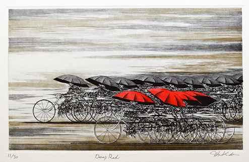 Deep Red by  Shigeki Kuroda - Masterpiece Online