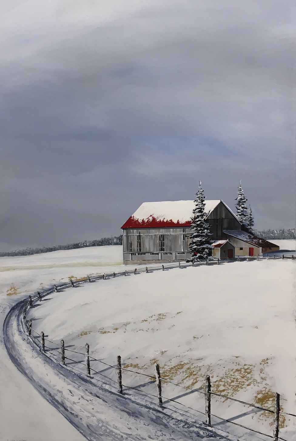 Country Lane by  Janet Liesemer - Masterpiece Online