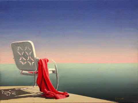 Beach Chair by  Andrew  Benyei  - Masterpiece Online
