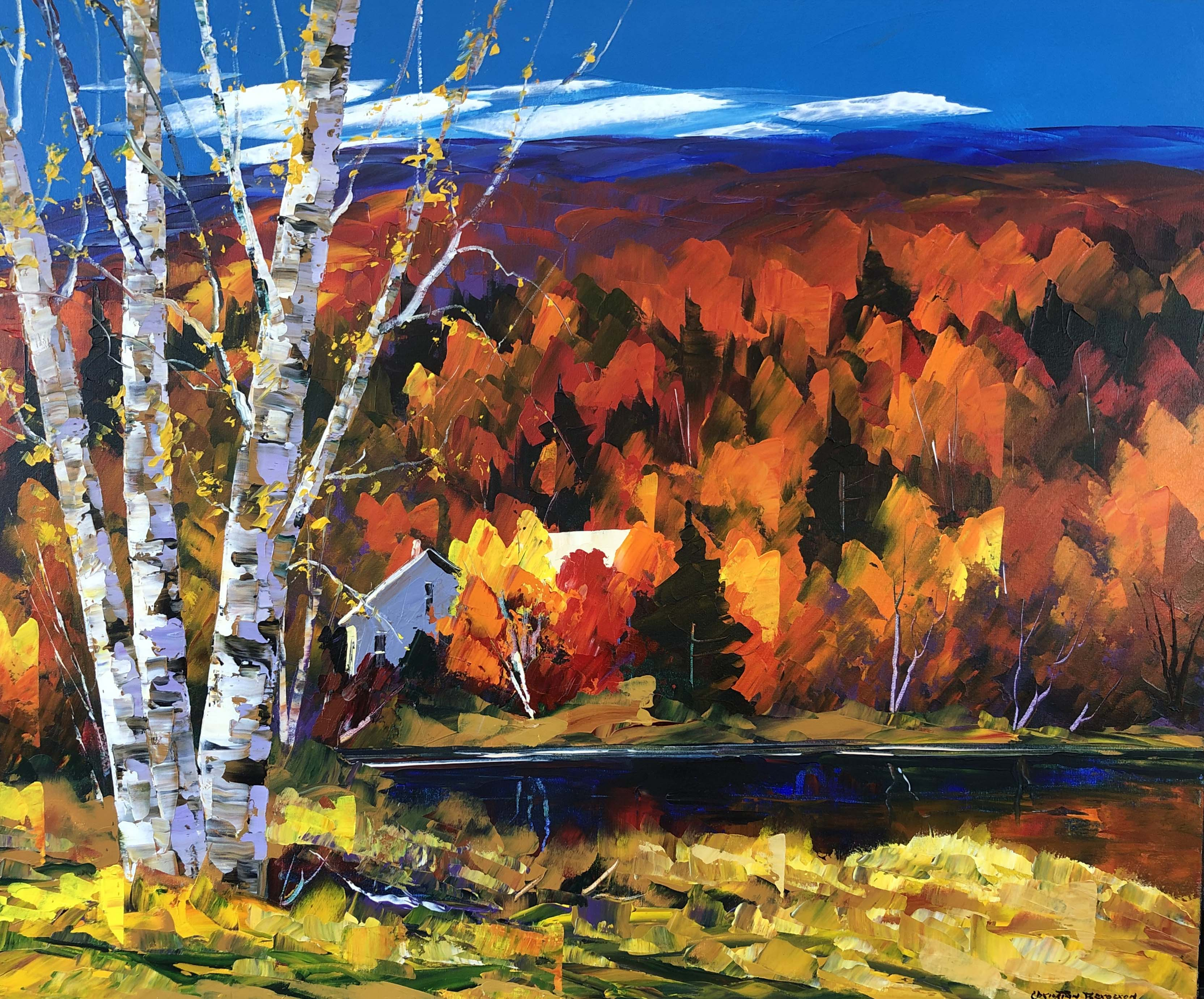 By the Lake by  Christian Bergeron - Masterpiece Online