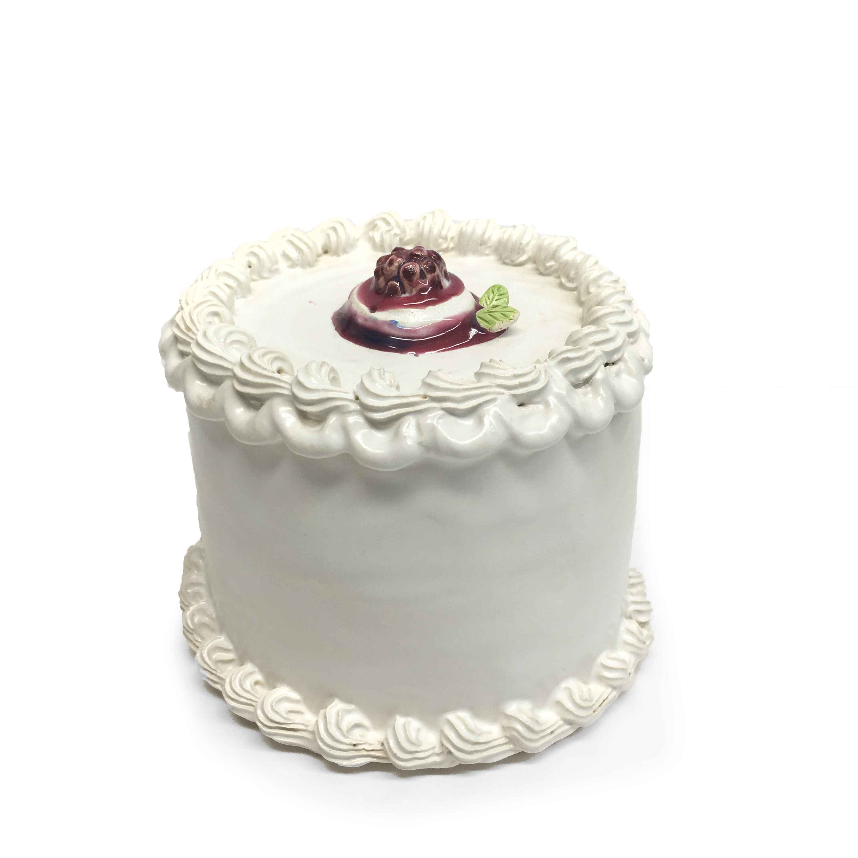 Raspberry Topped Cake represented  by  Jeff Nebeker