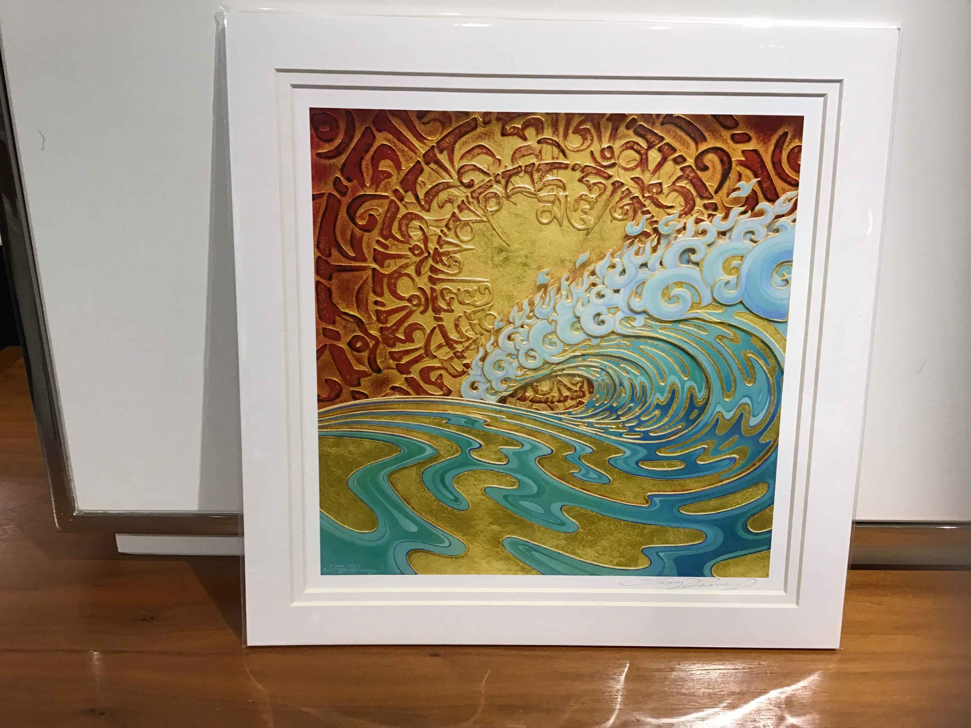 TC Mantra Wave Matted... by  Troy Carney - Masterpiece Online