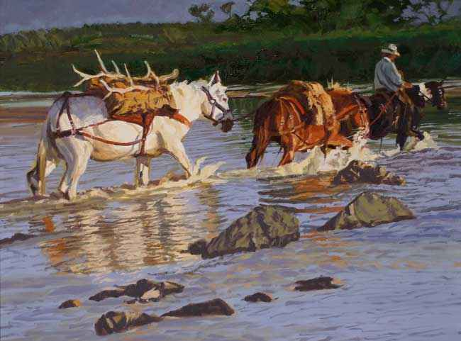 White Mule  by Mr Glen Edwards