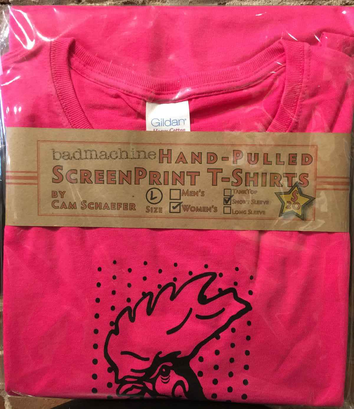 Pink Rooster T-shirt ...  by  Cameron Schaefer