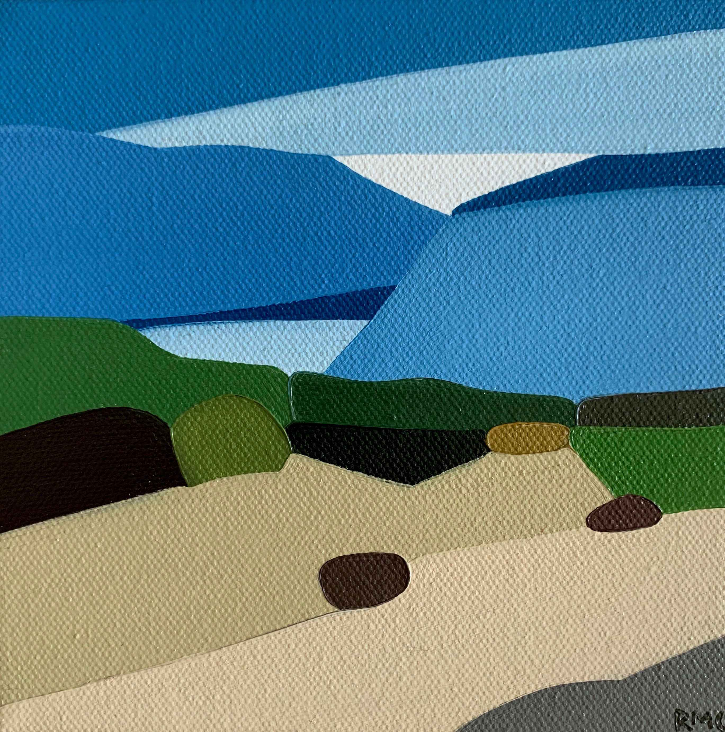 Along the Dunes by  Rachael Cassiani - Masterpiece Online