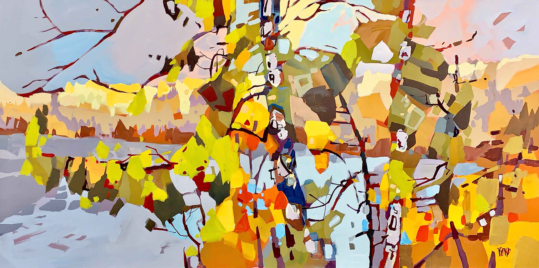 Kalamalka Tangle by  Rick Bond - Masterpiece Online