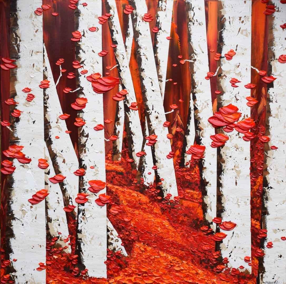 Red Afternoon by  Everist Prokofiev - Masterpiece Online