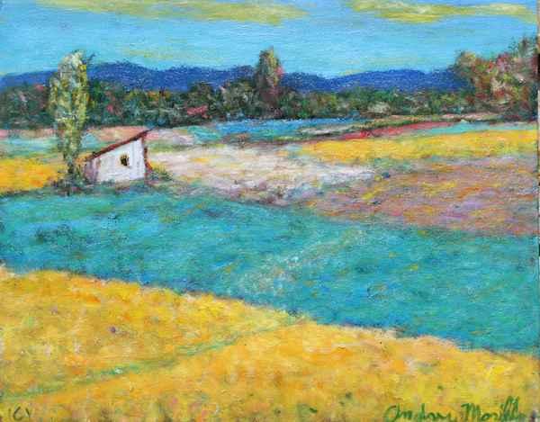 Farm Field  by  Andres  Morillo