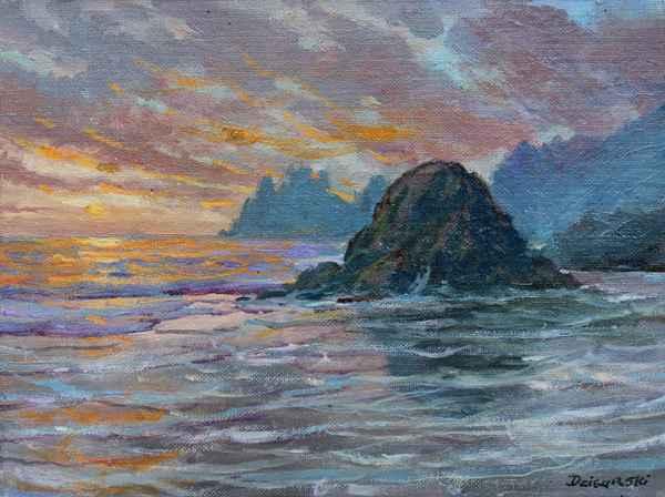 Sunset Surf by  A Dzigurski II - Masterpiece Online