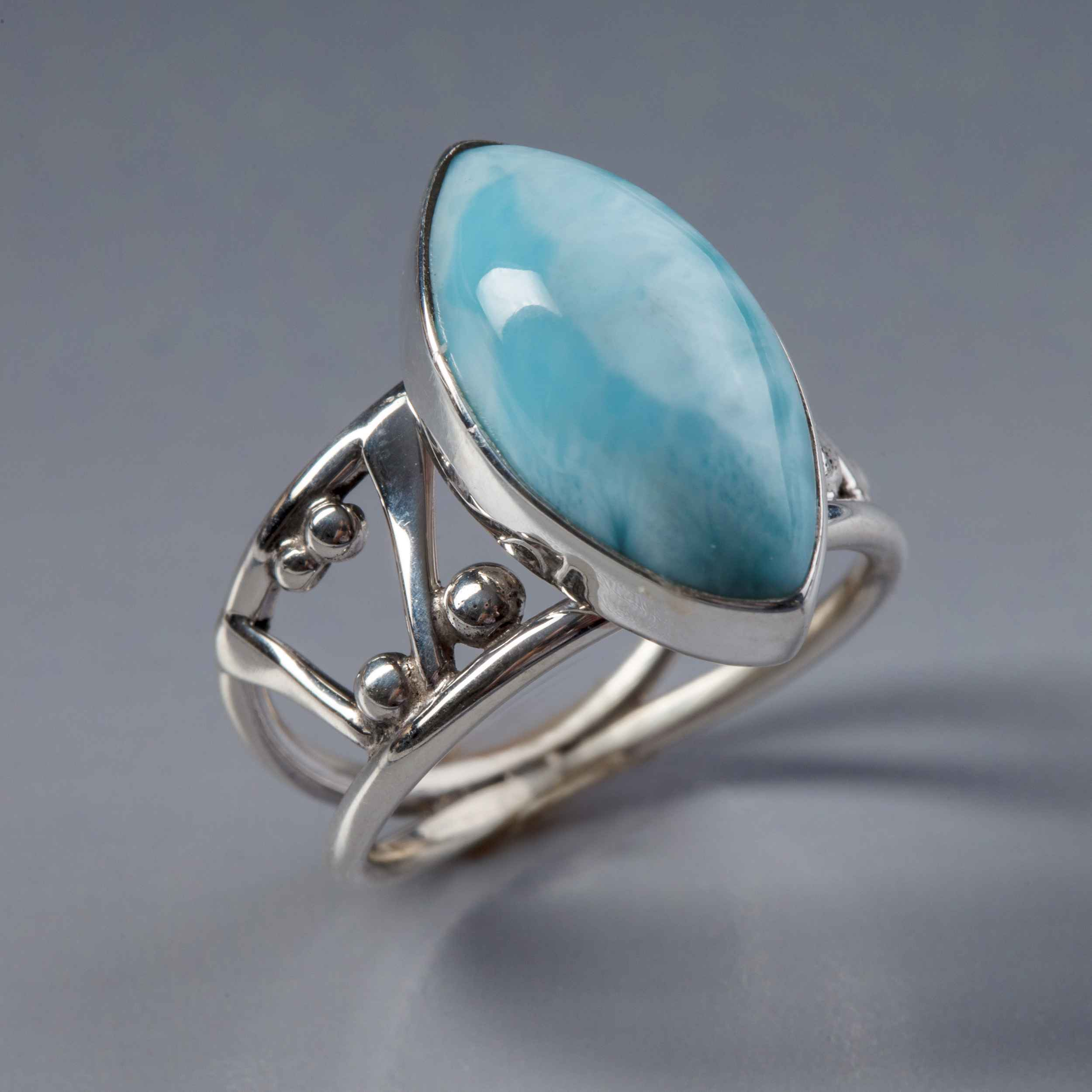 Larimar Ring by Ms. Catherine Laing - Masterpiece Online