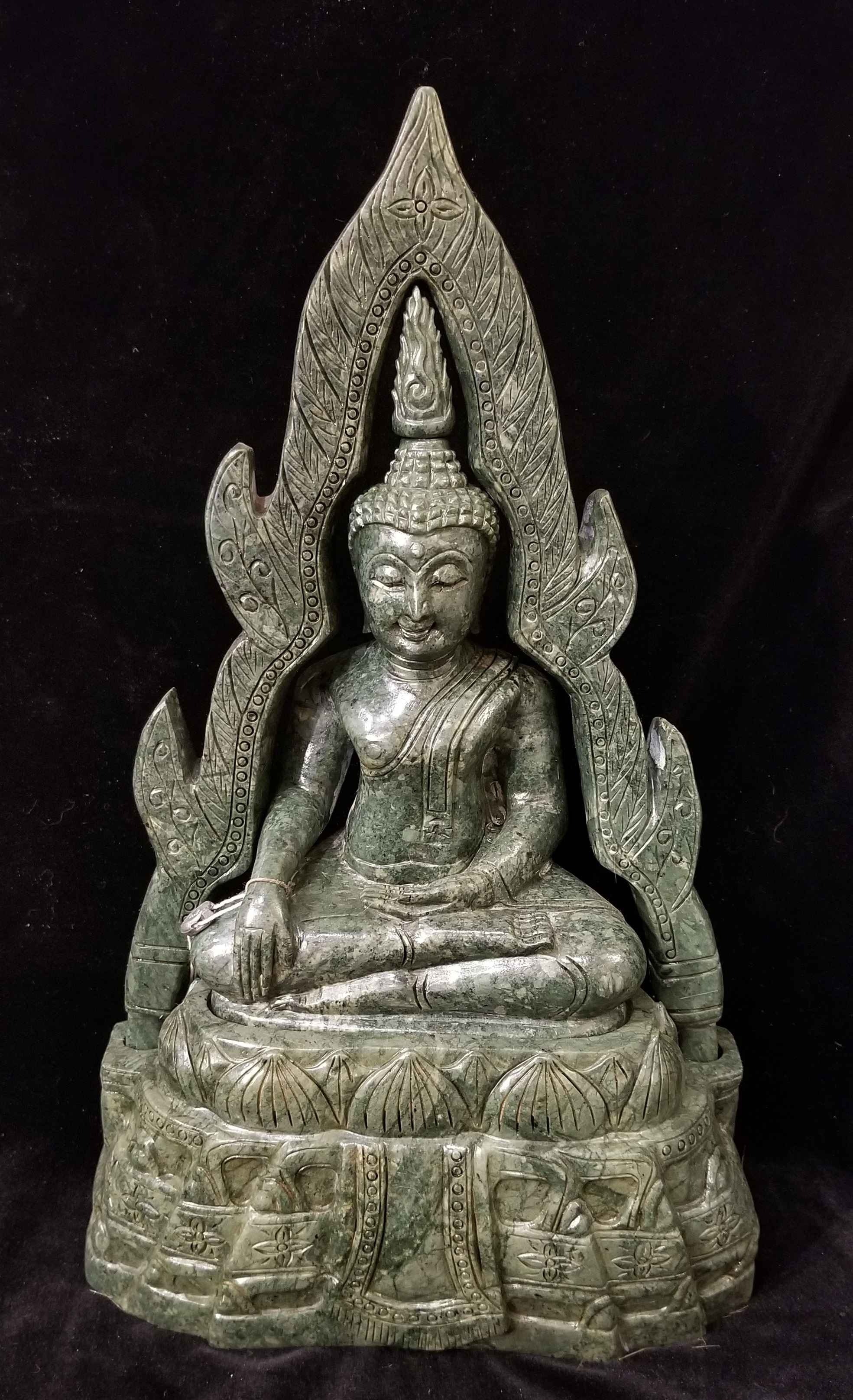 Lg Jade Buddha by  Gallery Pieces - Masterpiece Online