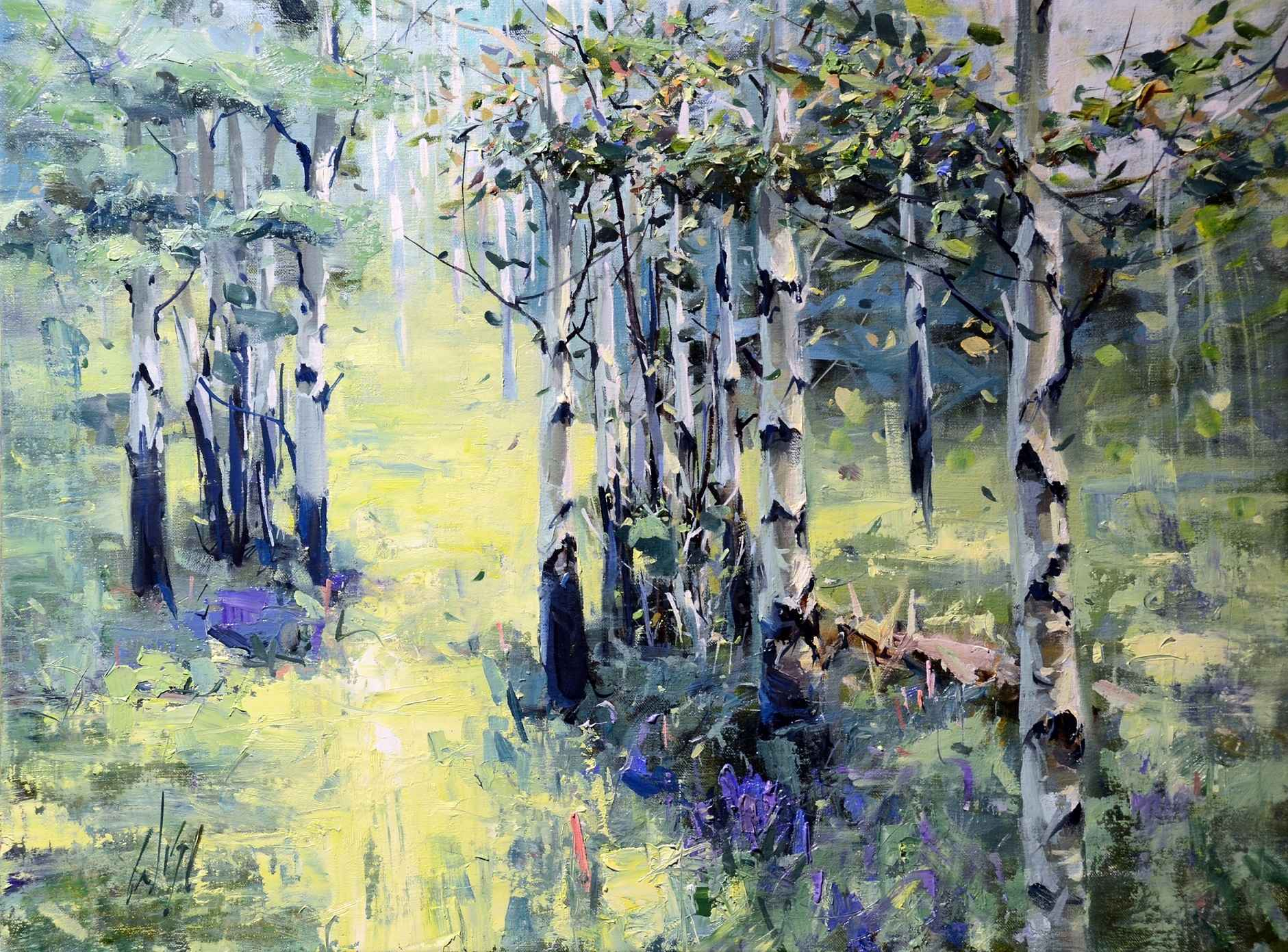 Aspen Sunshine by  Mike Wise - Masterpiece Online