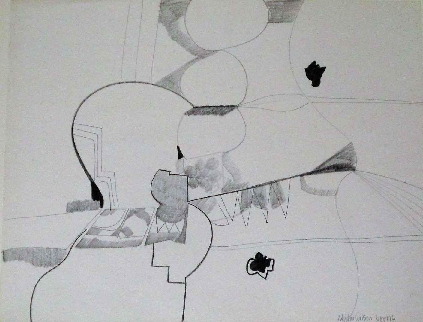 Untitled (#389) by  Milton Wilson - Masterpiece Online