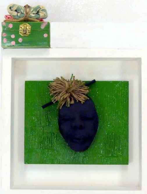 Immigrant Green Pastu... by  Ancel Daniel - Masterpiece Online