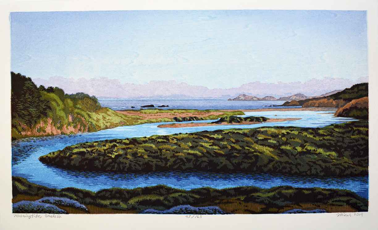 Morning Tide Gualala by  Micah Schwaberow - Masterpiece Online
