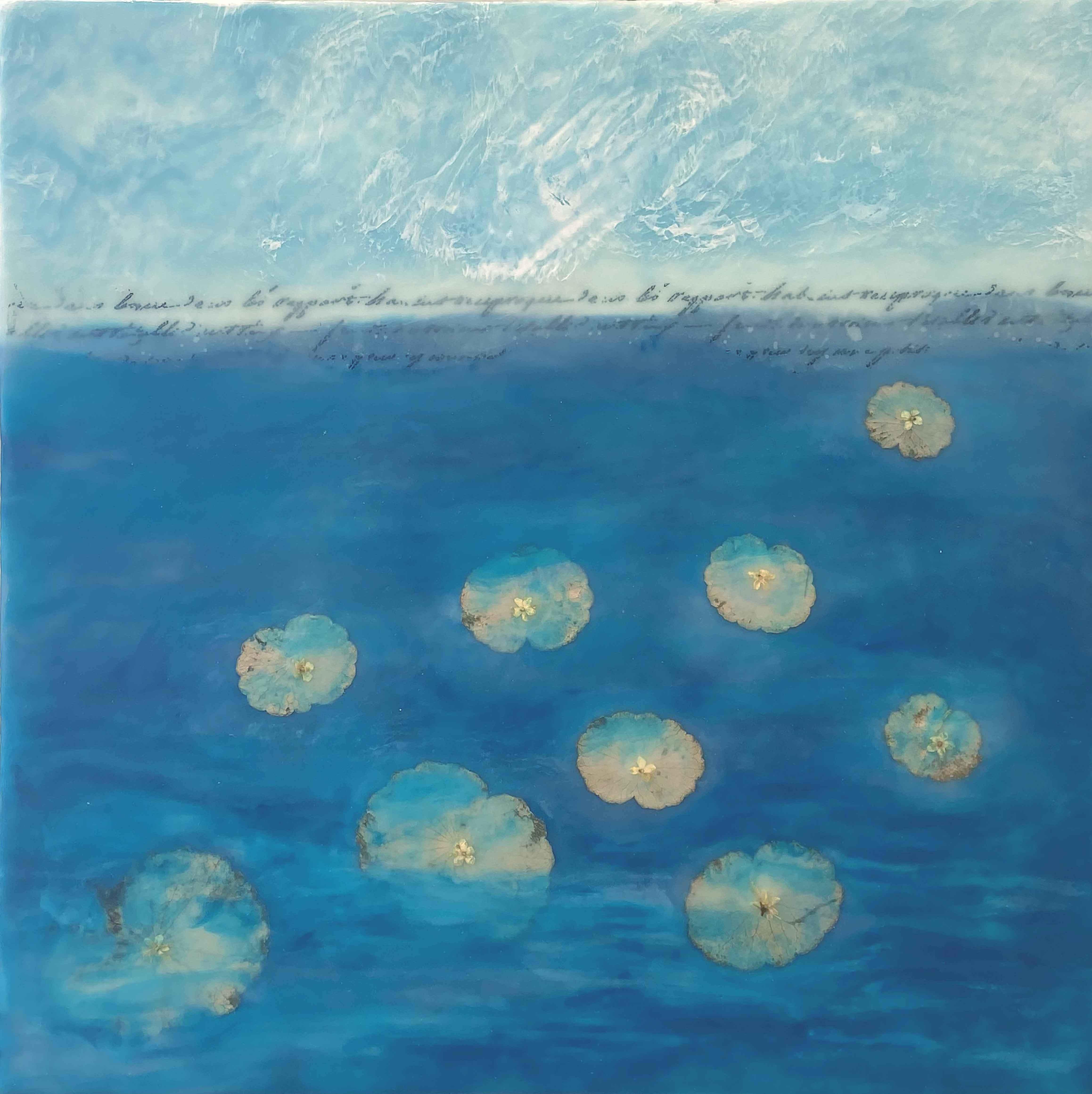 Lily Pond by  Elizabeth Garrett - Masterpiece Online