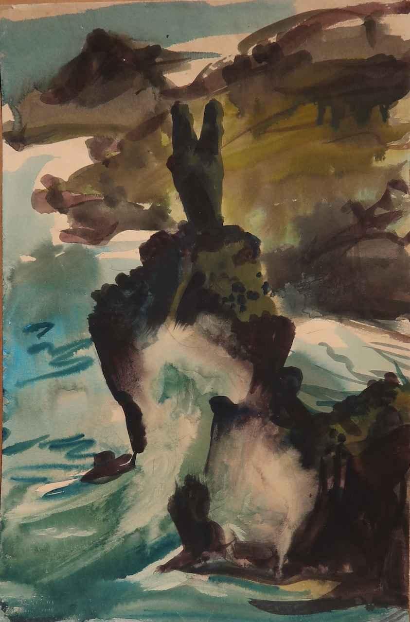 Waianapanapa, Maui by  Robert Benjamin Norris (1910-2006) - Masterpiece Online