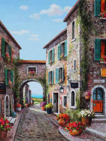 End of the Village by  Soon Ju Choi  - Masterpiece Online