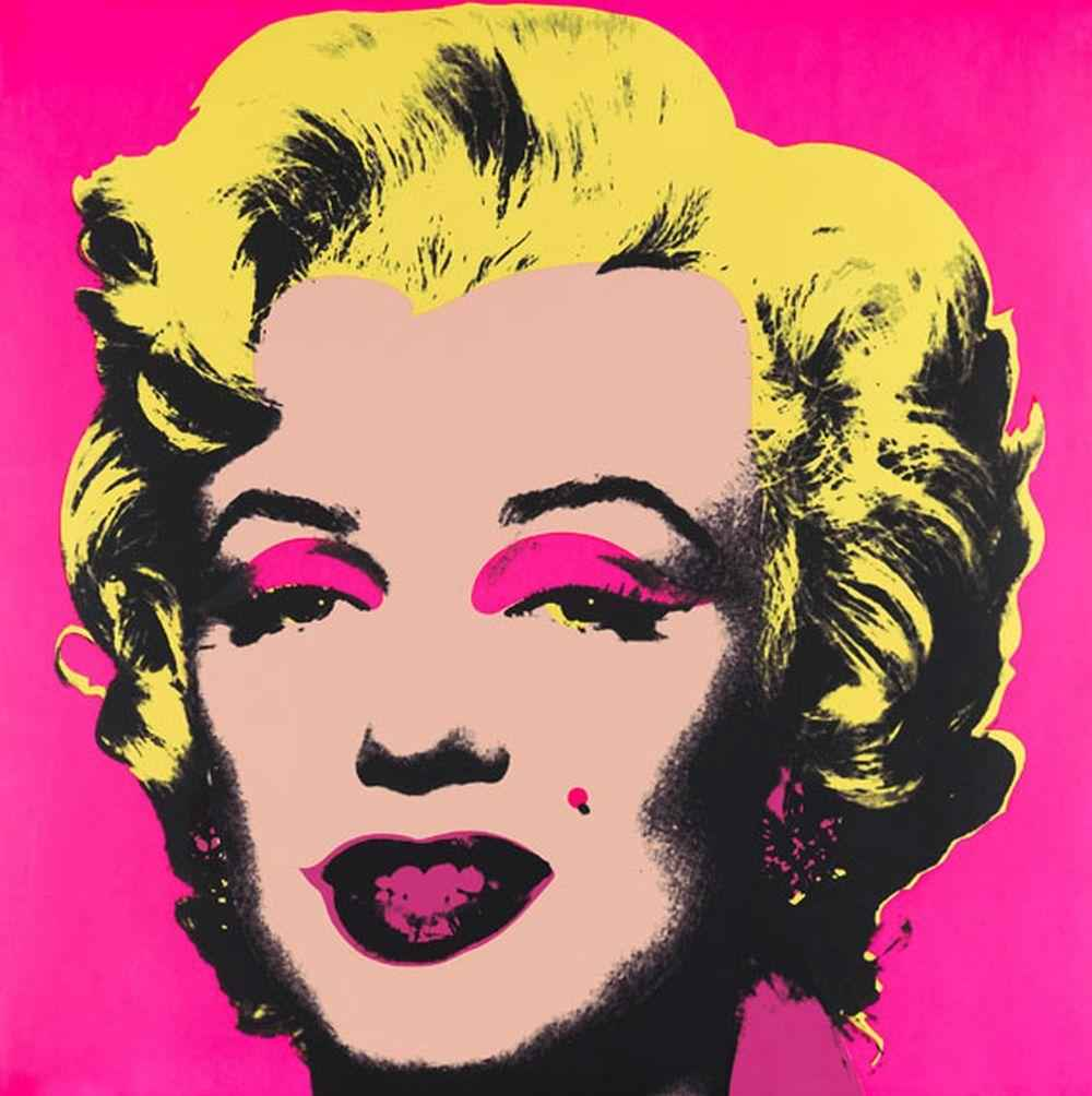 Pink Marilyn 11.31 by  Andy Warhol - Masterpiece Online