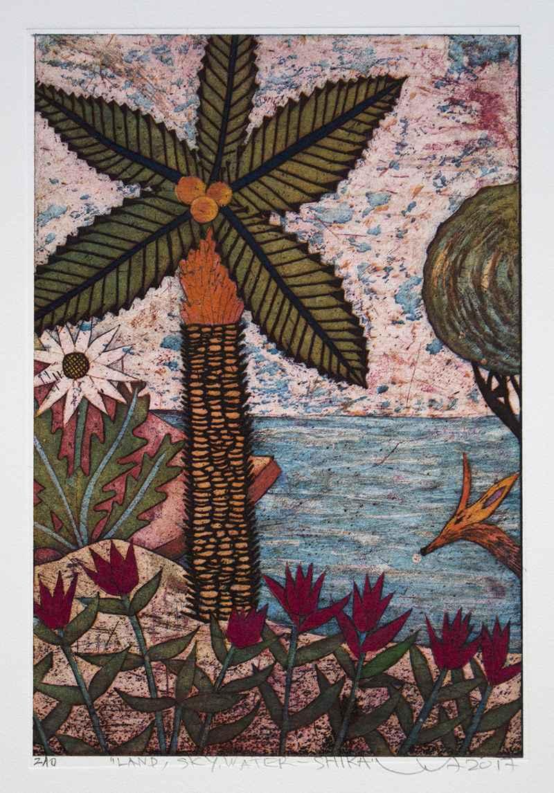 Land, Sky, Water-Shika by  Yuji Hiratsuka - Masterpiece Online