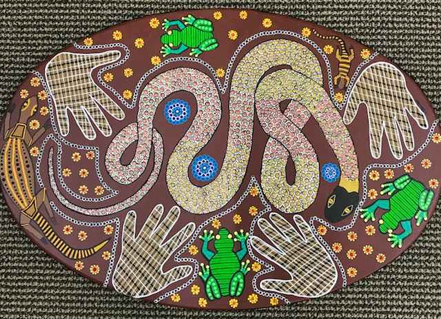 Yellow Naped Snake by Miss Lauren Bowyer - Masterpiece Online