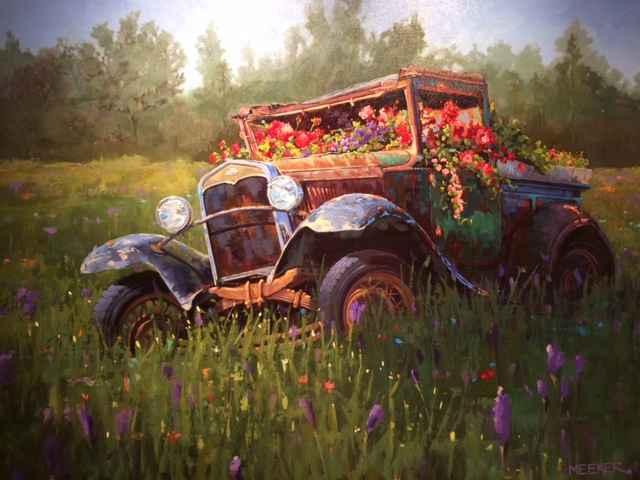 The Garden Party by  JoAnne Meeker - Masterpiece Online