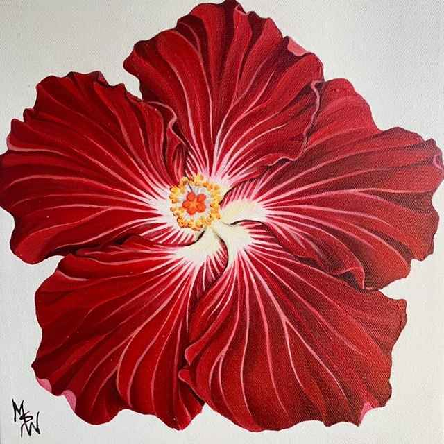 MsW Hibiscus Love 10x... by   MsW - Masterpiece Online