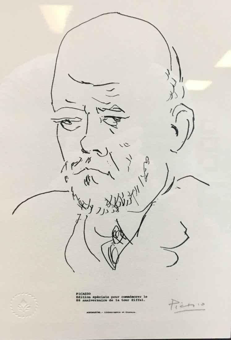 Portrait of Ambroise ... by  Pablo Picasso - Masterpiece Online