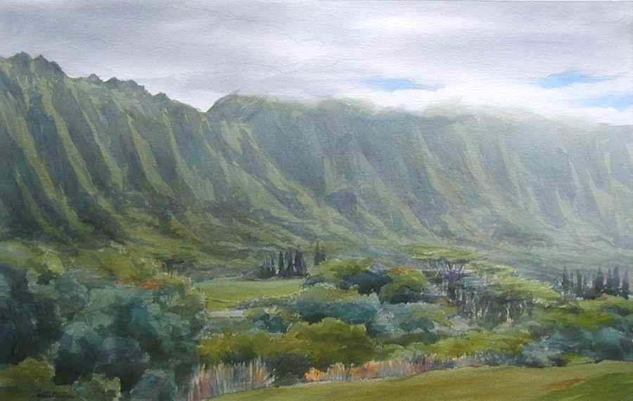 Koolau Morning by  Carter Black - Masterpiece Online