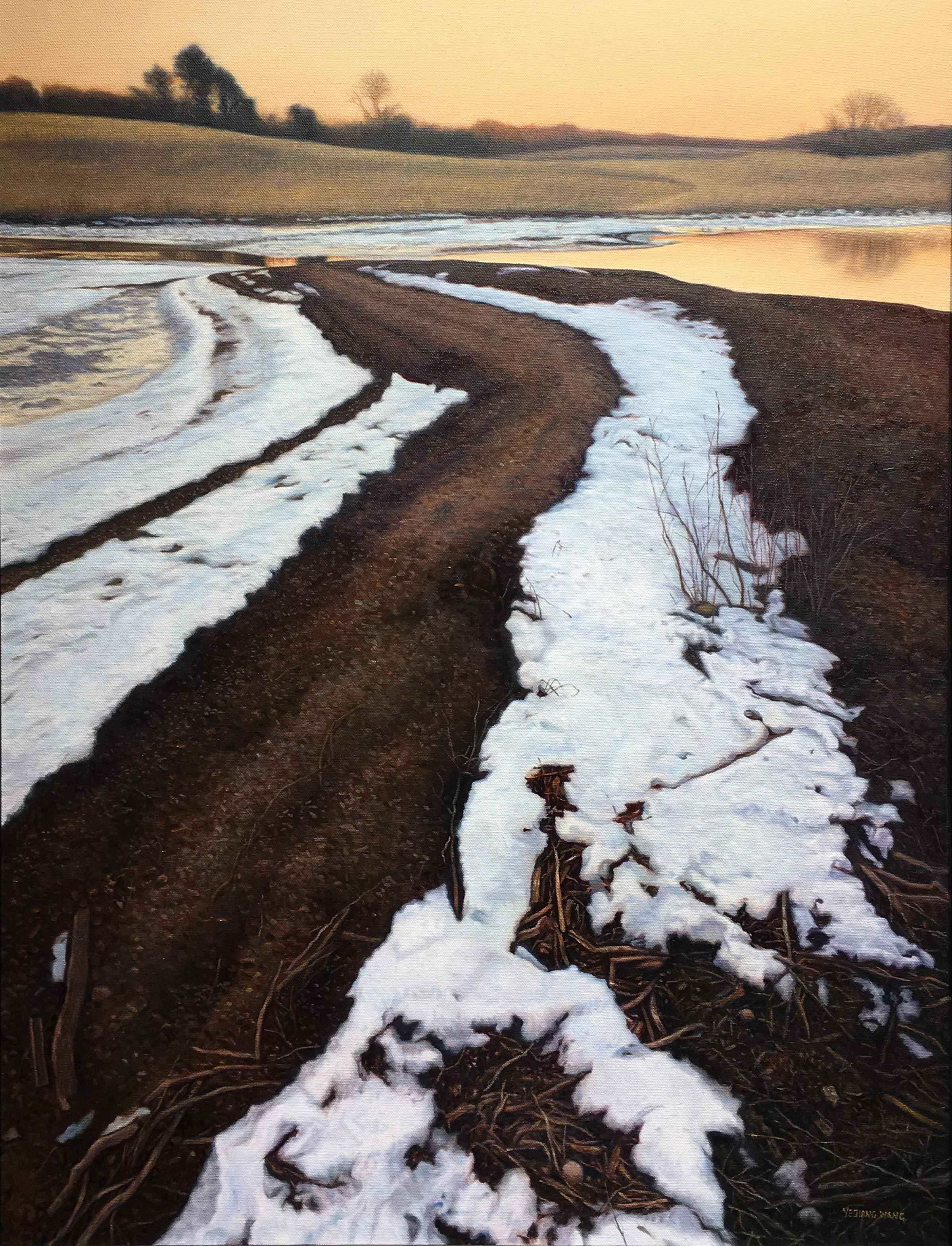 Winter Rhyme by  Ye Wang - Masterpiece Online