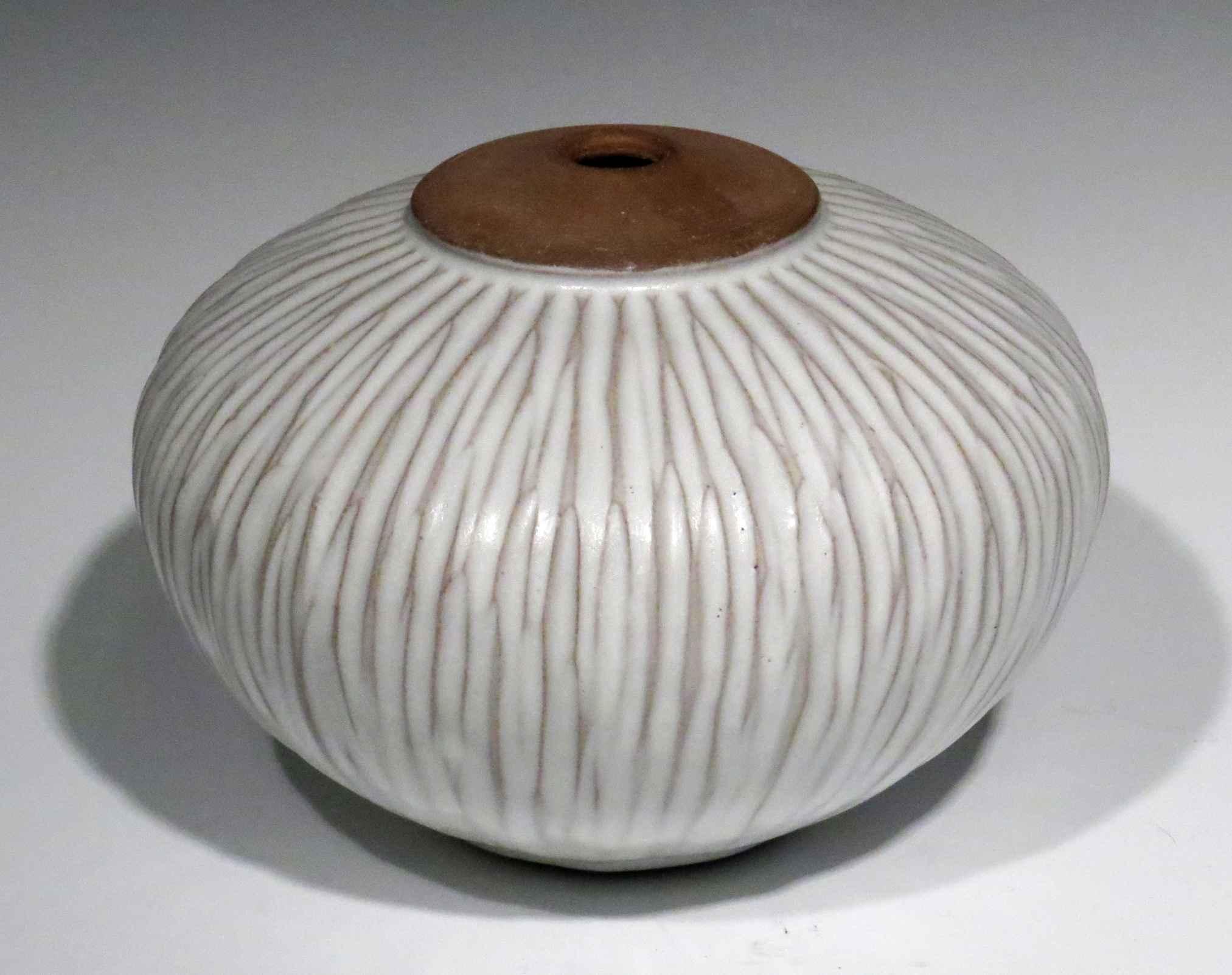 Large Carved Orb  by  Danny Meisinger