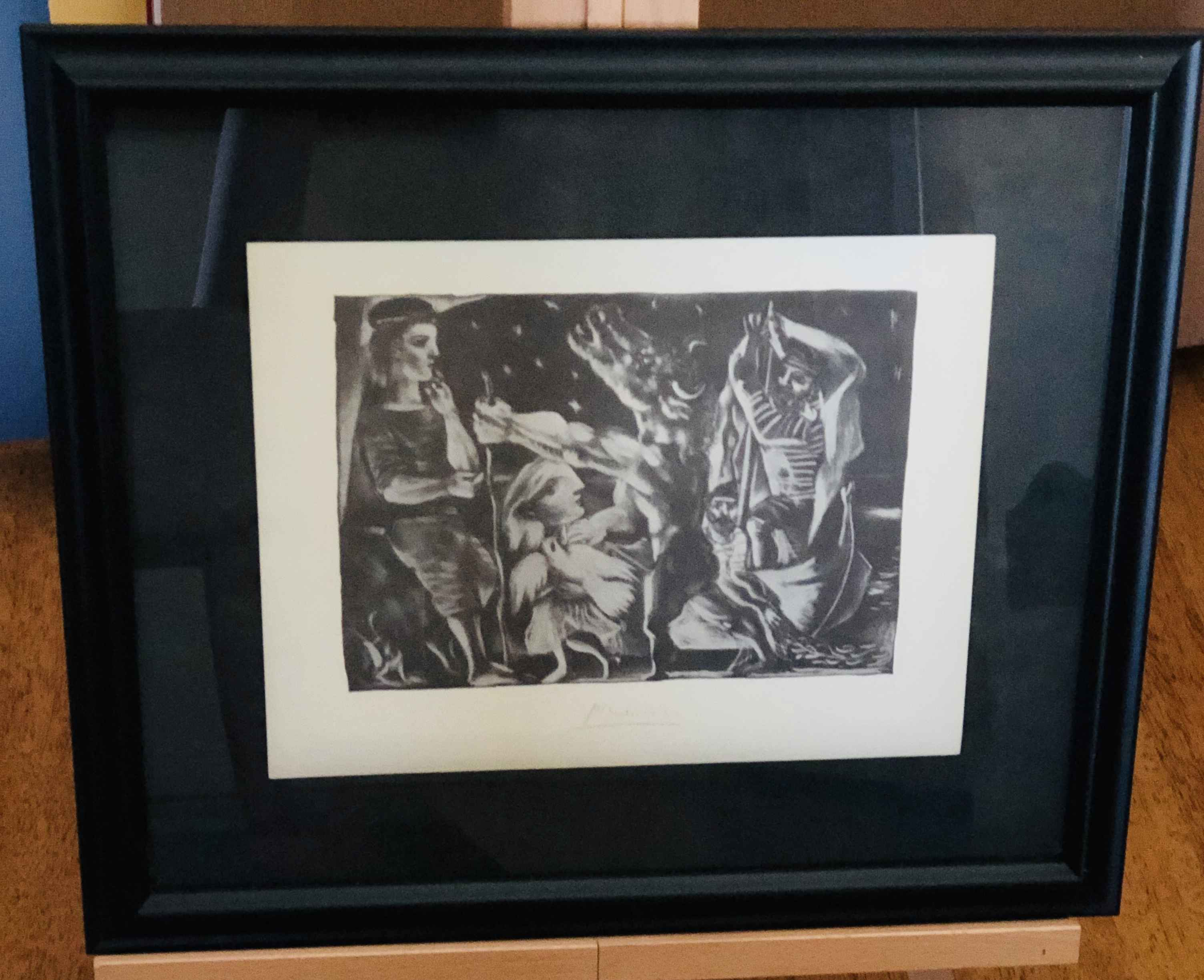 Blind Minotaur Led th... by  Pablo Picasso - Masterpiece Online