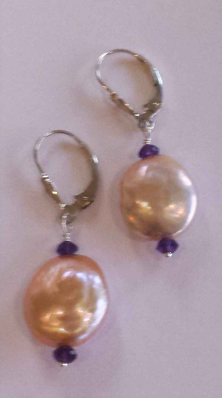 #56 Silver Pink Pearl... by Ms. Catherine Laing - Masterpiece Online
