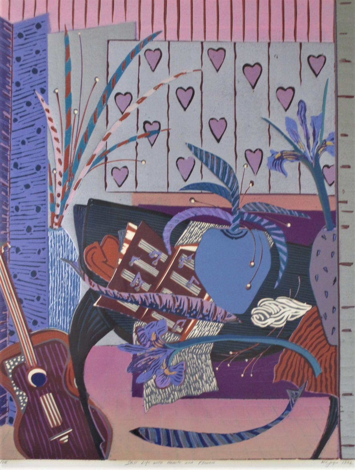 Still life with Heart... by  KC Joyce - Masterpiece Online