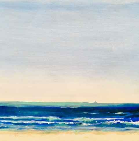 Untitled (Seascape Wa... by  Mary Theisen - Helm - Masterpiece Online