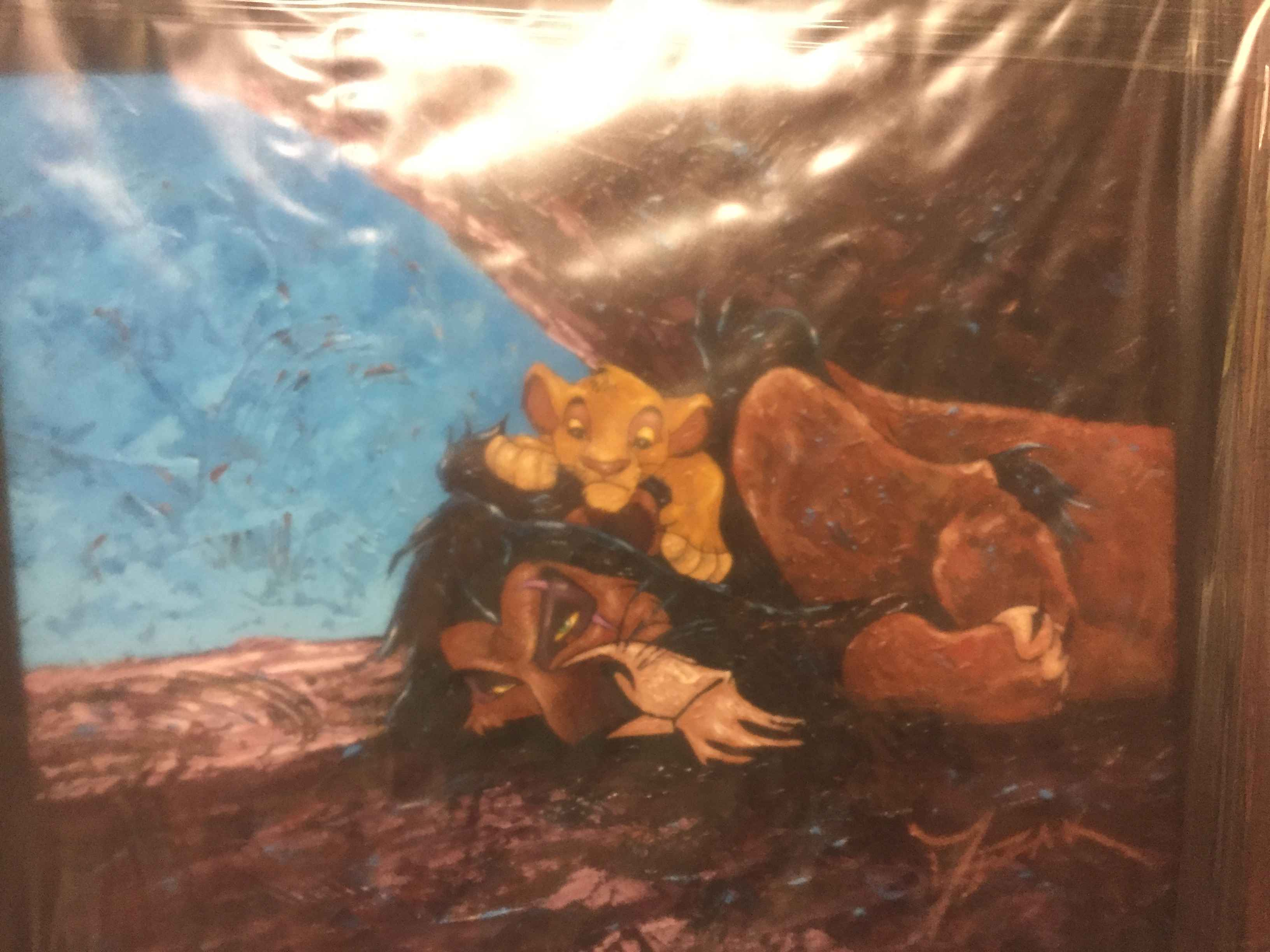 Simba and his Uncle S... by  Trevor Mezak - Masterpiece Online