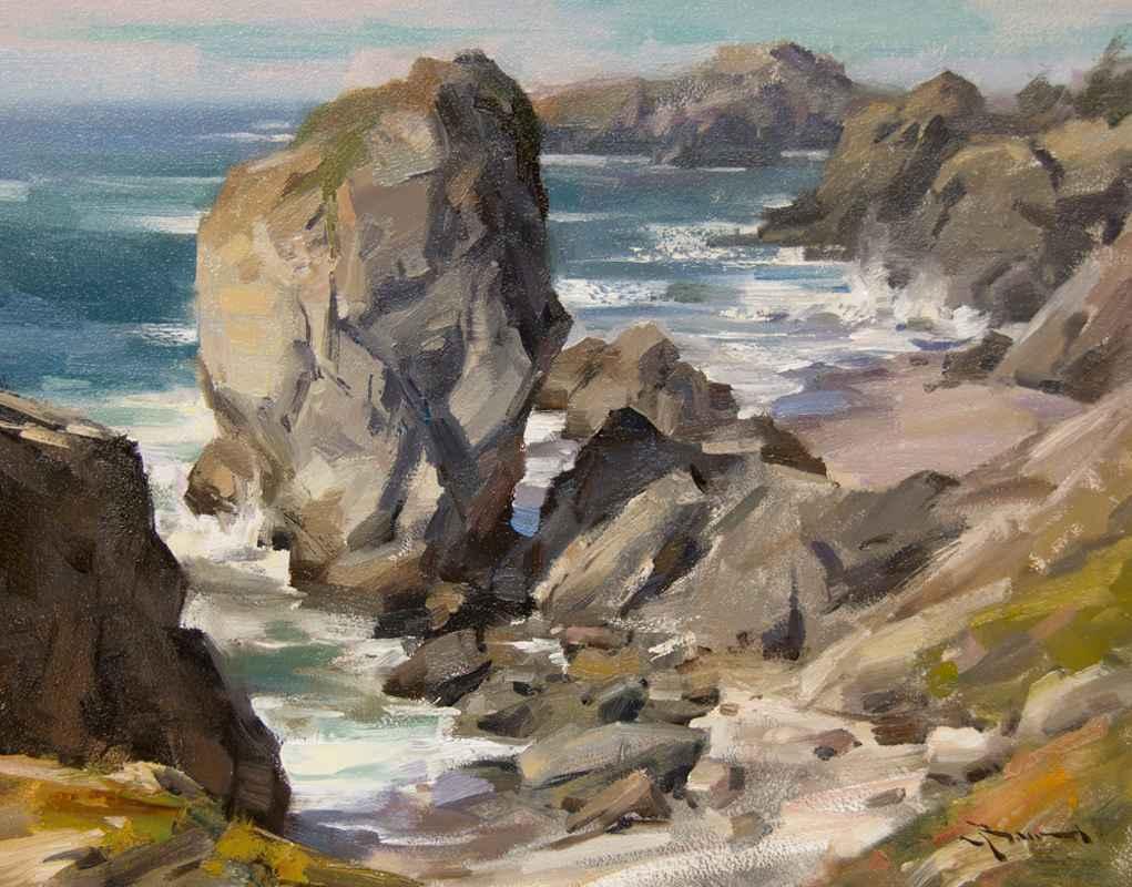 Defying Erosion  by  Mitch Baird