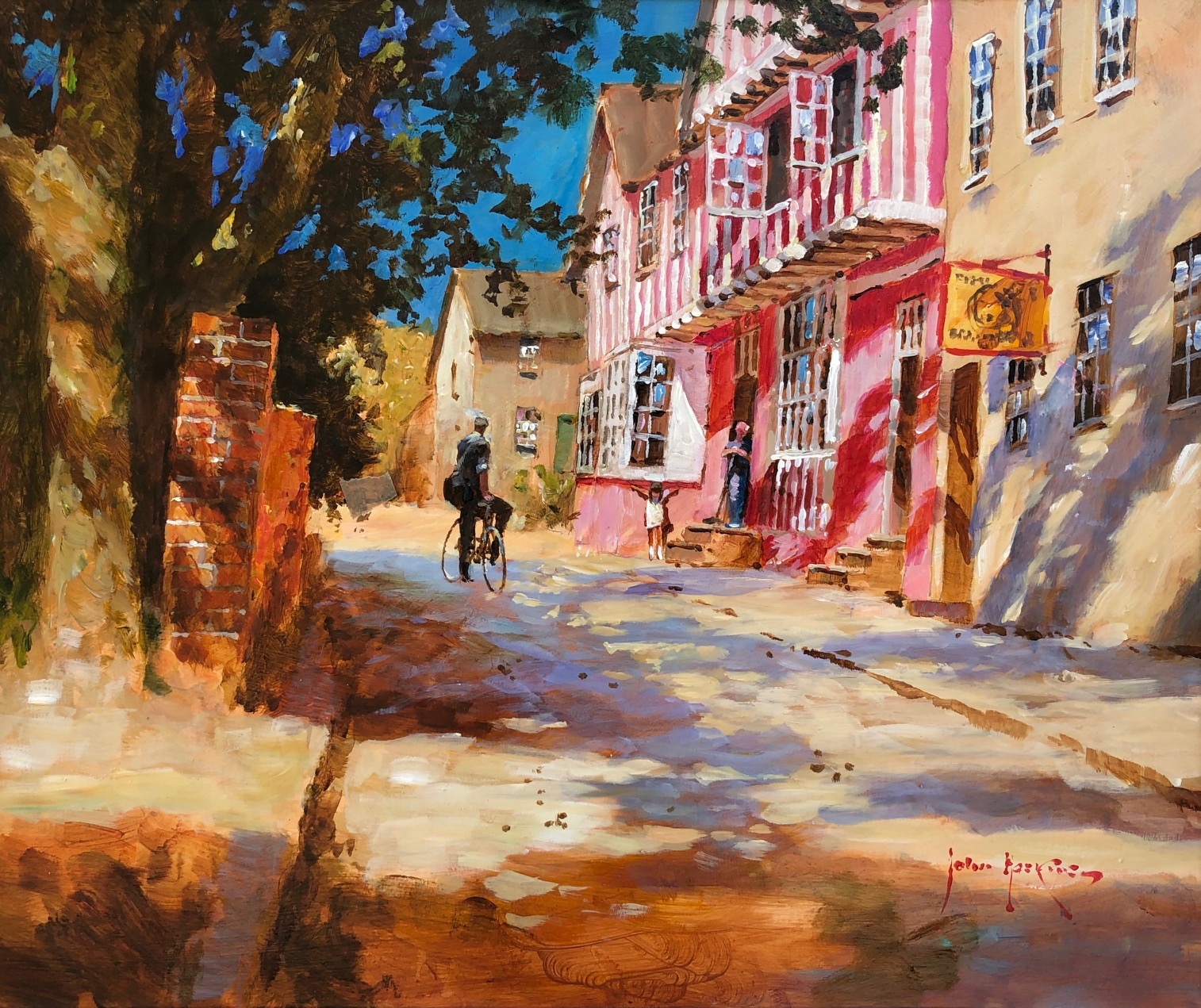 Summer at Cavendish by  John Haskins - Masterpiece Online