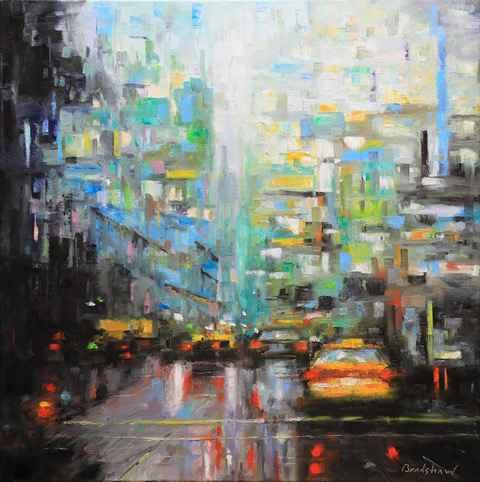 City Rush by  Bob Bradshaw - Masterpiece Online